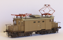 handmade train models